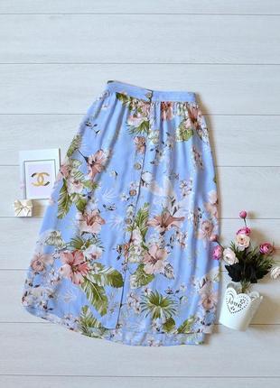 Ніжна юбка в квіти primark
