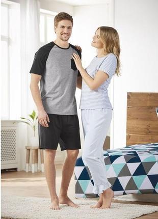 Легкие пижамные штаны р.евро 40 42 м esmara германия