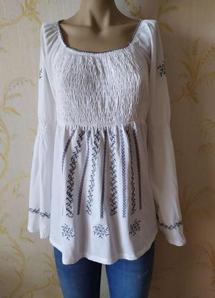 Блуза туника вышиванка kappahi p l