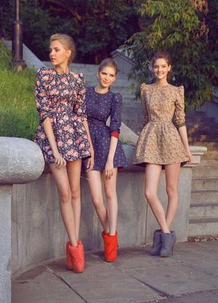 Дизайнерское брендовое платье ульяна сергеенко ulyana sergeenko