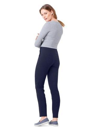 Удобные. зауженные стрейч-брюки до щиколотки от tchibo (германия)