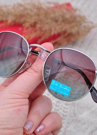 Фирменные солнцезащитные круглые очки rita bradley polarized окуляри