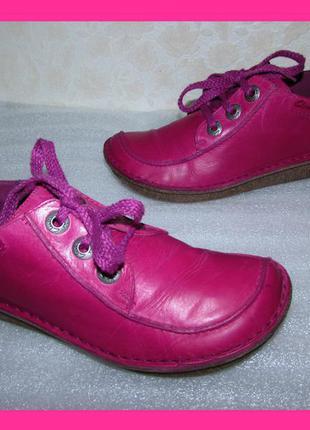Супер туфли мокасины 100% кожа ~clarks~ р 39
