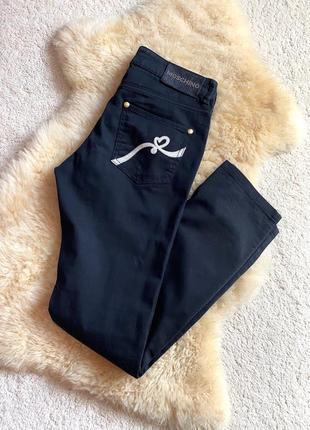 Love moschino, чёрные брюки, италия