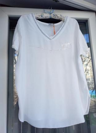 Белоснежная футболка, италия!