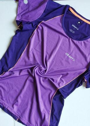 Футболка craft лёгкая функциональная спортивная, одежда для фитнеса
