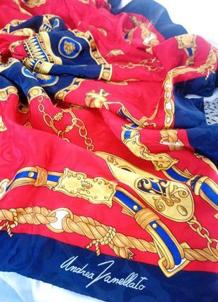 Шелковый платок andrea zanellato