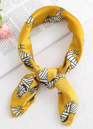 Шёлковый платок твилли 💓 🦓 зебры