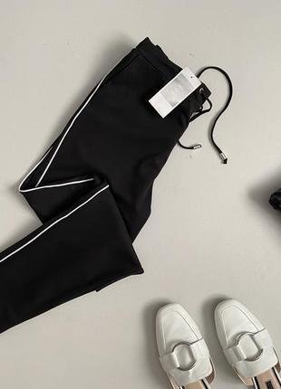Новые трендовые брюки джоггеры с лампасами house