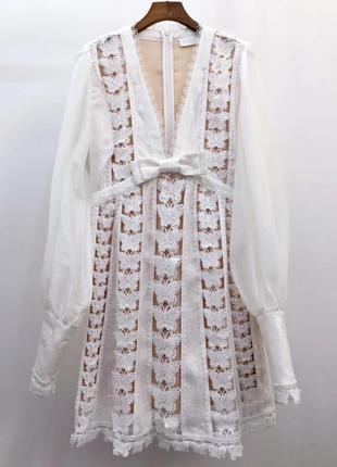 Платье zimmermann , кружево натуральное