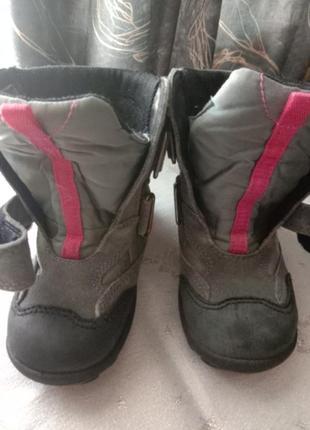 Термо сапоги термо ботинки мембрана gore tex 25р2 фото