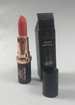 Помада для губ malva cosmetics creamy lipstick m-489.