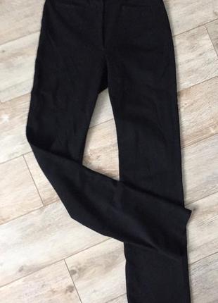 Классические брюки на высокой посадке
