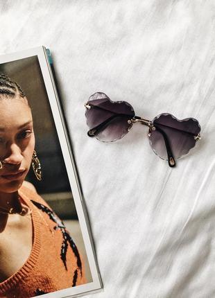 Стильные солнцезащитные очки - сердечки!