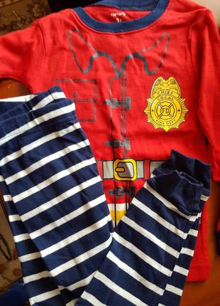 Пижама, костюм, комплект, хлопок