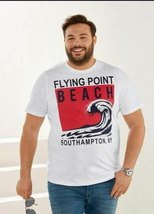 Классная мужская футболка livergy большой размер батал