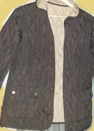 Куртка bonprix двухсторонняя, весенне-осенняя, легкая, размер  46-48