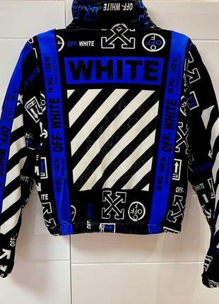Курточка велюр на синтепоне  off white