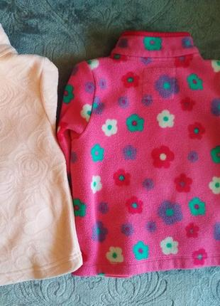 Флиска mothercare next zara, флісова кофта, поддева, свитер3 фото