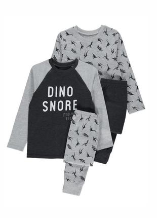 Набор пижам для мальчика рр.134-146 динозавр george (джордж)