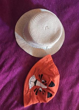 Панамка соломенная шляпа для мальчика gymboree