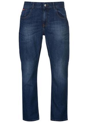 Lee cooper синие мужские джинсы/прямые мужские джинсы/классические мужские джинсы