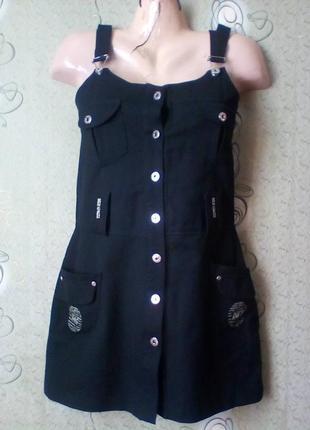 Платье сарафан d&g,made in italy.