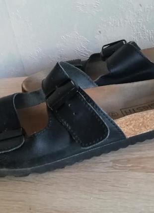 Ортопедические сандалии испания кожа стелька, siesta