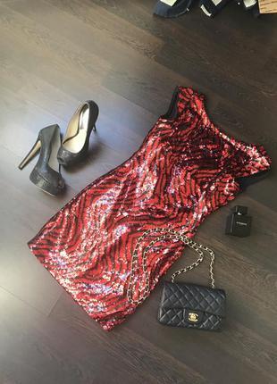 Шикарное платье guess оригинал xs