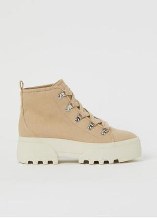 Ботинки сапоги h&m