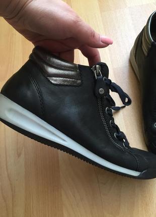 Кожаные сапоги ботинки clark's