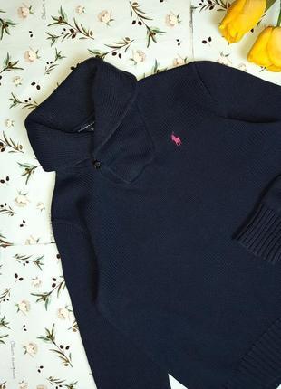 🌿1+1=3 фирменный синий плотный теплый свитер ralph lauren оригинал, размер 48 - 504 фото