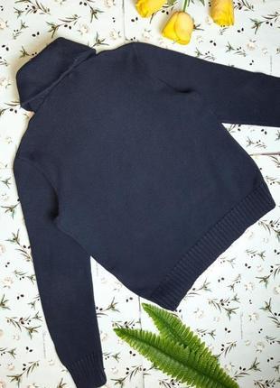 🌿1+1=3 фирменный синий плотный теплый свитер ralph lauren оригинал, размер 48 - 503 фото