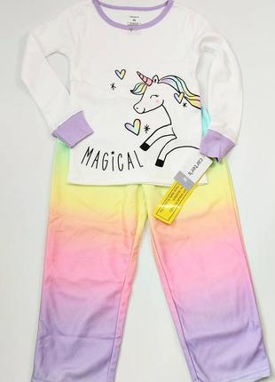 Пижама carters с единорогом
