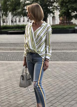 Хлопковая рубашка / блуза
