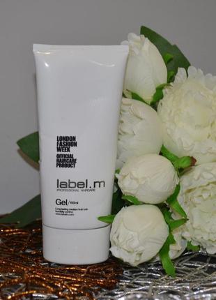 Профессиональный фирменный стайлинг гель для волос label.m gel оригинал 150 ml2 фото
