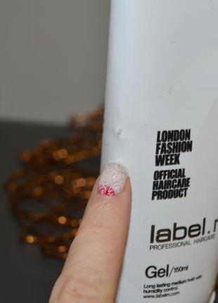 Профессиональный фирменный стайлинг гель для волос label.m gel оригинал 150 ml7 фото