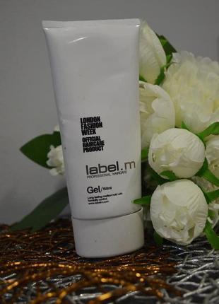 Профессиональный фирменный стайлинг гель для волос label.m gel оригинал 150 ml4 фото