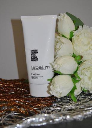Профессиональный фирменный стайлинг гель для волос label.m gel оригинал 150 ml