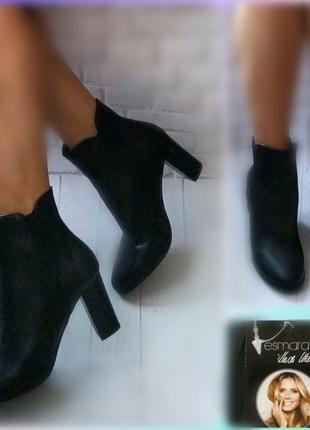 Esmara германия шикарные ботинки натуральная кожа 40 р.кожаные женские ботинки
