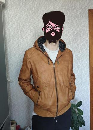 Куртка мужская рыжая деми afs jeep, р-р 48-50