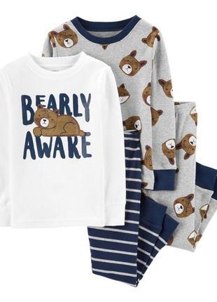 Пижамка 2в1 для мальчика картерс