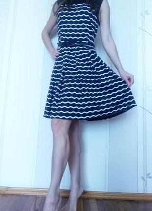 Красивое платье, платье без рукавов, летнее платье