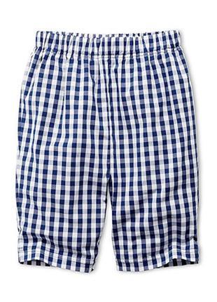 Домашние хлопковые шорты в яркую клеточку от бренда tchibo, германия