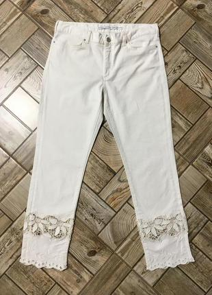 Стильные джинсы с кружевом,прошвой,вышивкой &other stories