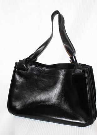 Кожаная сумка шоппер кожа gucci италия оригинал