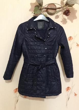Демисезонное пальто / плащ для девочки