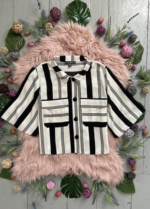 Актуальная базовая блуза в полоску №144