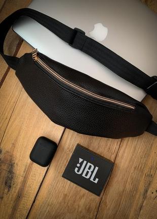 Новая шикарная стильная сумка на пояс бананка кожа pu / женская поясная сумка /кроссбоди