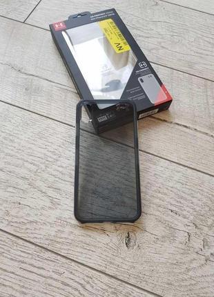 Противоударный, защитный чехол under armour ua protect verge для iphone x/xs